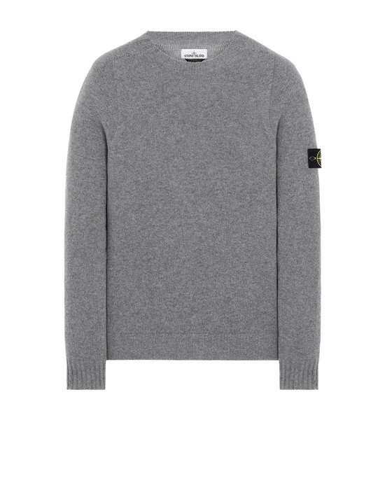 STONE ISLAND 505A3 Sweater Man Grey