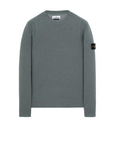 STONE ISLAND 505A3 Sweater Man Sage Green EUR 135