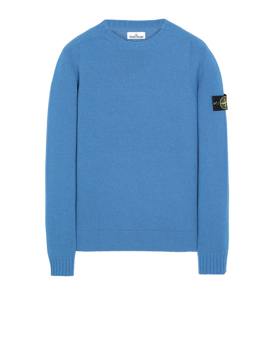 STONE ISLAND 505A3 Sweater Man Periwinkle