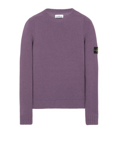 STONE ISLAND 505A3 Jersey Hombre Magenta EUR 259