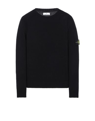 STONE ISLAND 505A3 Sweater Man Black EUR 255