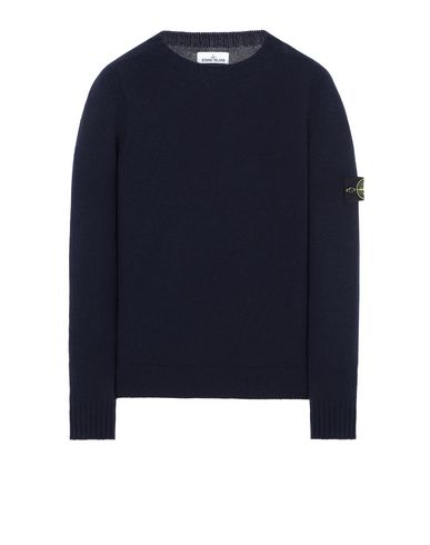 STONE ISLAND 505A3 Sweater Man Blue USD 297