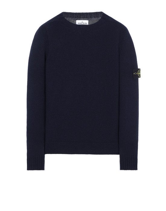 STONE ISLAND 505A3 Sweater Man Blue