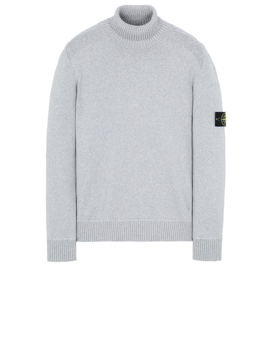 STONE ISLAND 542A2 Sweater Man Grey