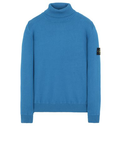 STONE ISLAND 542A2 Sweater Man Periwinkle EUR 245