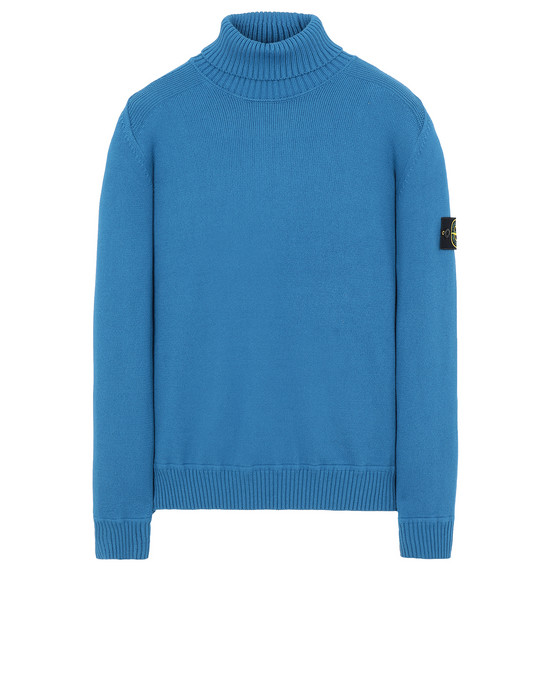 STONE ISLAND 542A2 Sweater Man Periwinkle