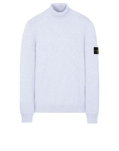 STONE ISLAND 542A2 Sweater Man Pearl Gray USD 305