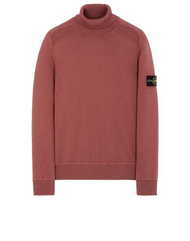 STONE ISLAND 542A2 Sweater Man Dark Burgundy EUR 237
