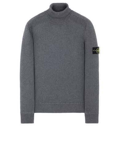 STONE ISLAND 542A2 Sweater Man Steel Grey EUR 339