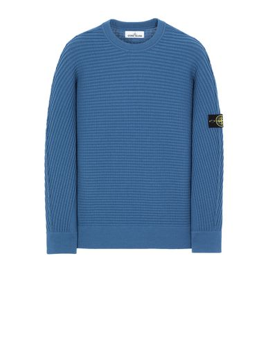 STONE ISLAND 502A1 Sweater Man Periwinkle EUR 349