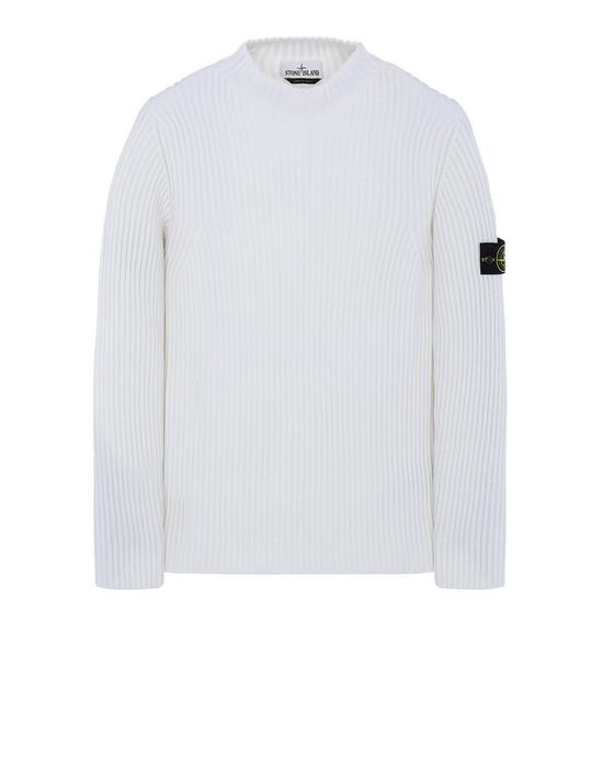 STONE ISLAND 517C2 Sweater Man Natural White