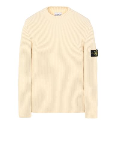 STONE ISLAND 517C2 Sweater Man Butter USD 480