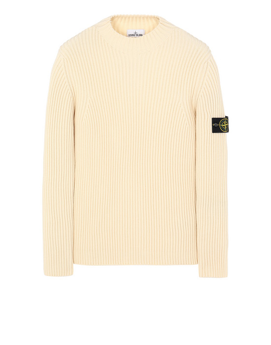 STONE ISLAND 517C2 Sweater Man Butter