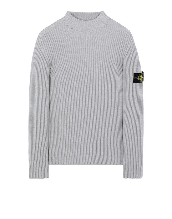 STONE ISLAND 517C2 Sweater Man Pearl Gray