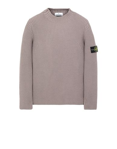 STONE ISLAND 517C2 Sweater Man Mud EUR 359