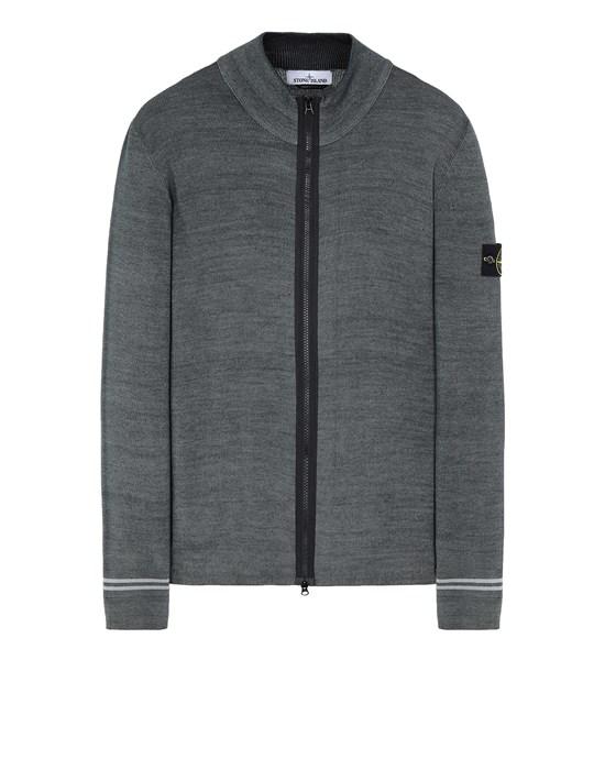 Sweater Man 556A8 FAST DYE + AIRBRUSH Front STONE ISLAND