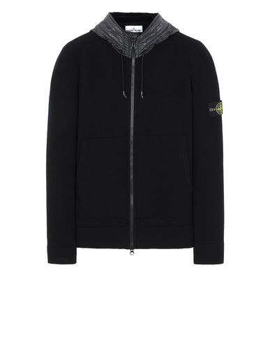 STONE ISLAND 585A1 Sweater Man Black EUR 431