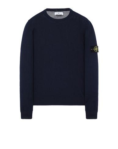 STONE ISLAND 526C4 Sweater Man Marine Blue USD 168