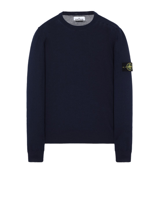 STONE ISLAND 526C4 Sweater Man Marine Blue