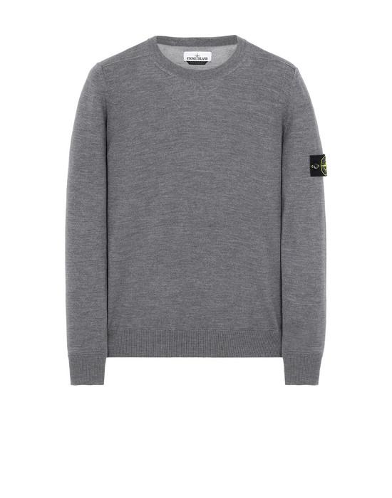 STONE ISLAND 526C4 Sweater Man Gray