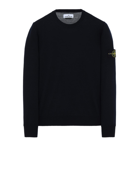 STONE ISLAND 526C4 Sweater Man Blue