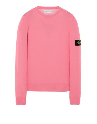STONE ISLAND 526C4 Sweater Man Cyclamen USD 252