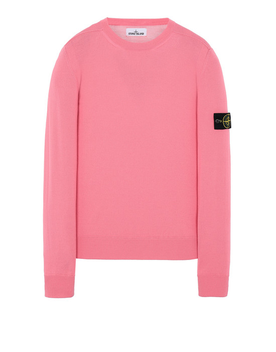 STONE ISLAND 526C4 Sweater Man Cyclamen