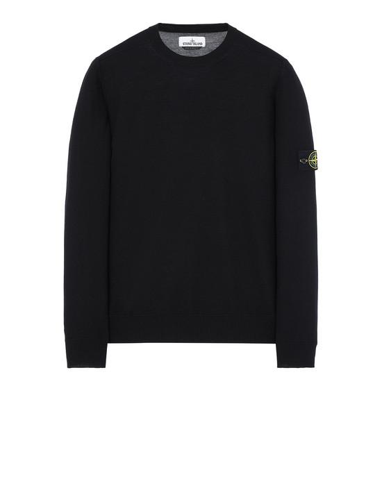 STONE ISLAND 526C4 Sweater Man Black