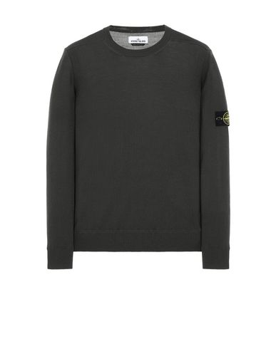 STONE ISLAND 526C4 Sweater Man Musk Green EUR 193