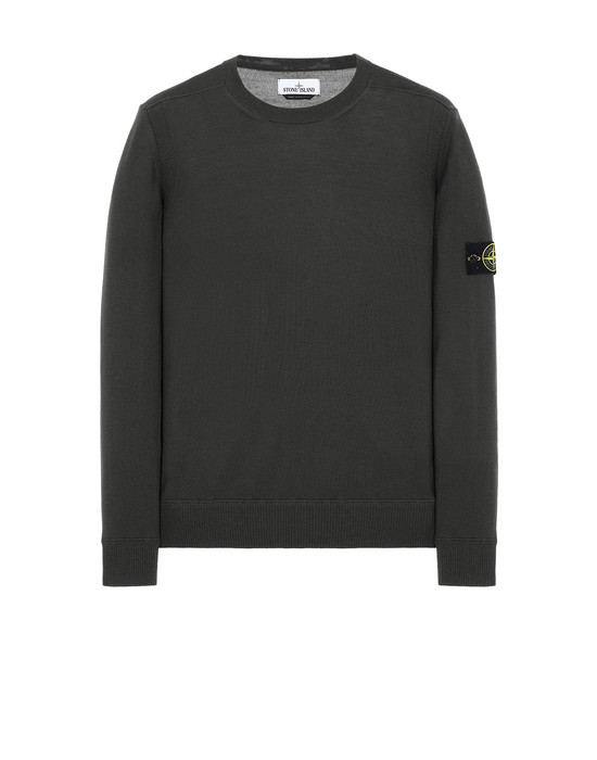 STONE ISLAND 526C4 Sweater Man Musk Green