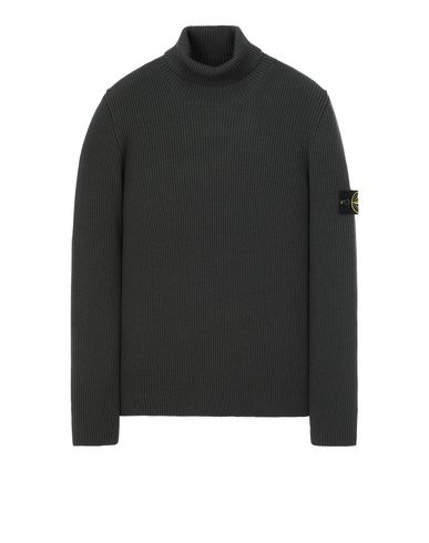 STONE ISLAND 522C2 Sweater Man Musk Green USD 398