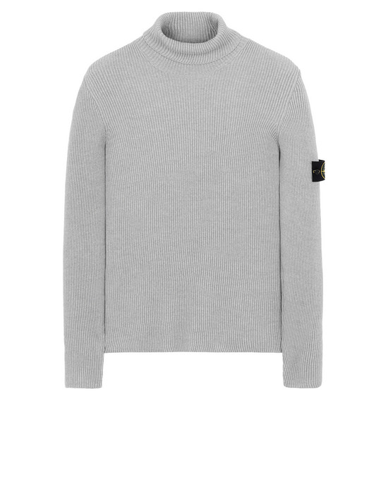STONE ISLAND 522C2 Sweater Man Pearl Gray