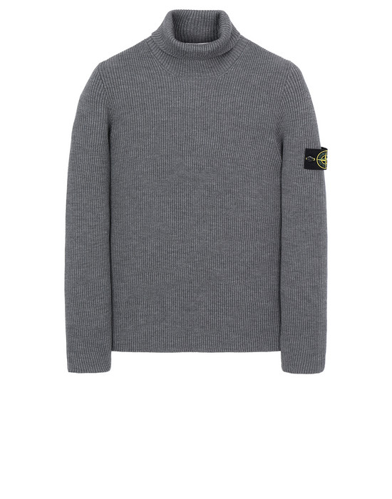 STONE ISLAND 522C2 Sweater Man Gray