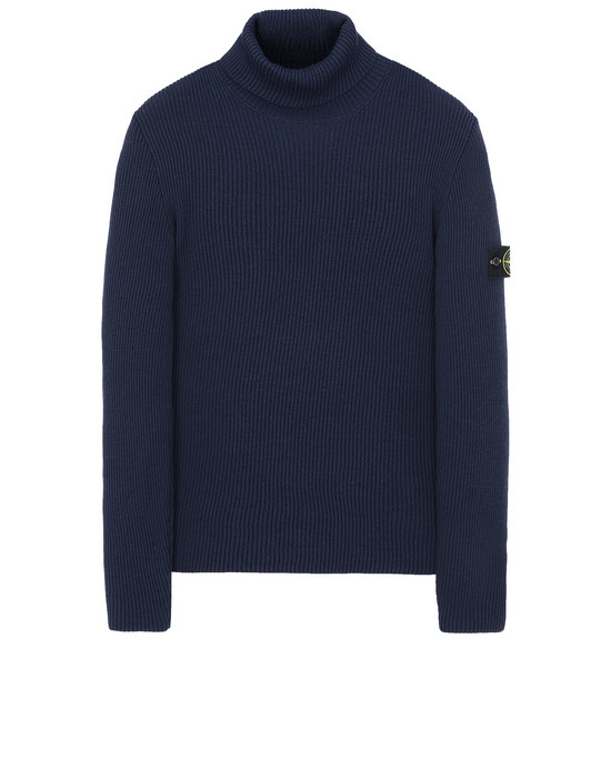 STONE ISLAND 522C2 Sweater Man Marine Blue