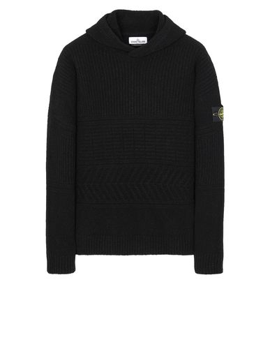STONE ISLAND 548B3 Sweater Man Black EUR 479