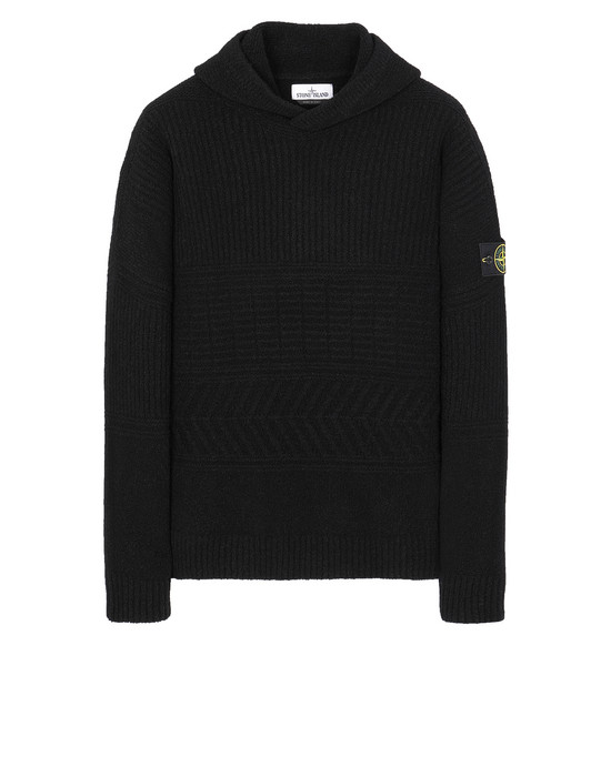 STONE ISLAND 548B3 Sweater Man Black