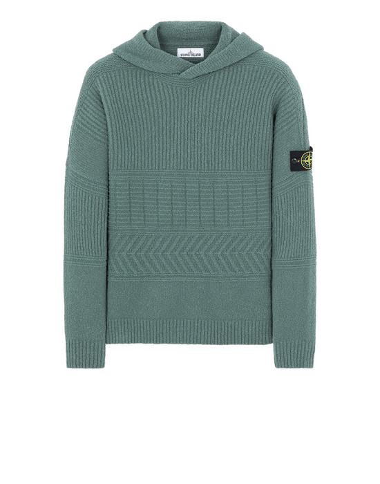 STONE ISLAND 548B3 Sweater Man Sage Green