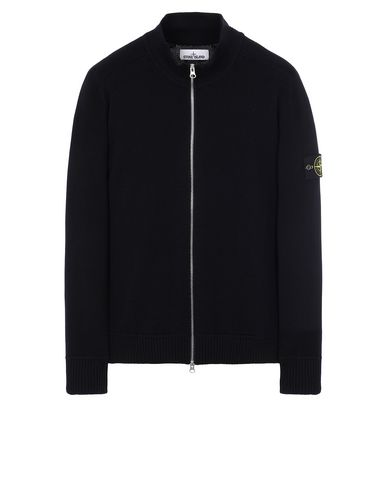 STONE ISLAND 543A2 Sweater Man Blue USD 551
