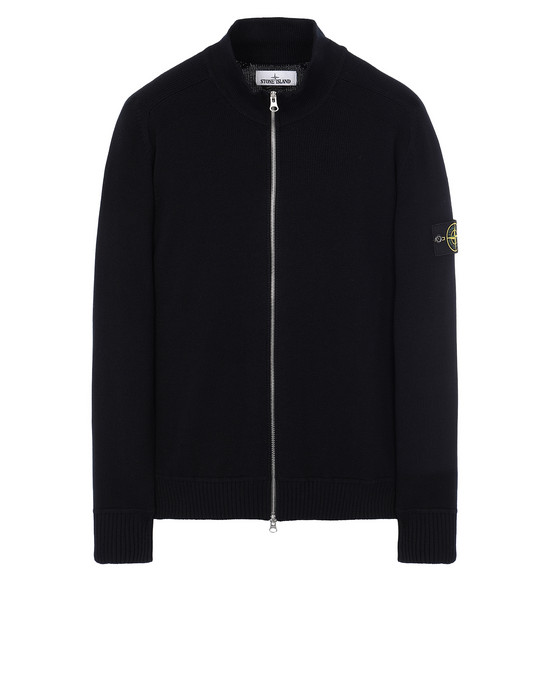 STONE ISLAND 543A2 Sweater Man Blue