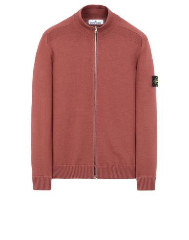 STONE ISLAND 543A2 Sweater Man Dark Burgundy EUR 452