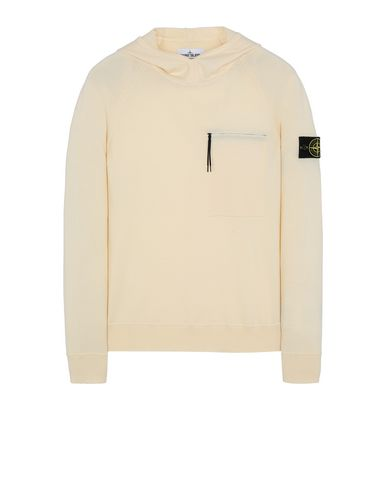 STONE ISLAND 524C4 Sweater Man Butter EUR 256