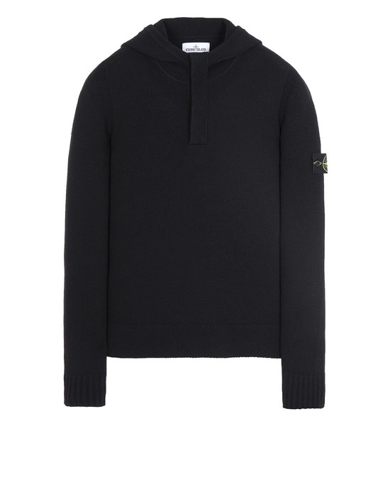 STONE ISLAND 507A3 Tricot Homme Noir