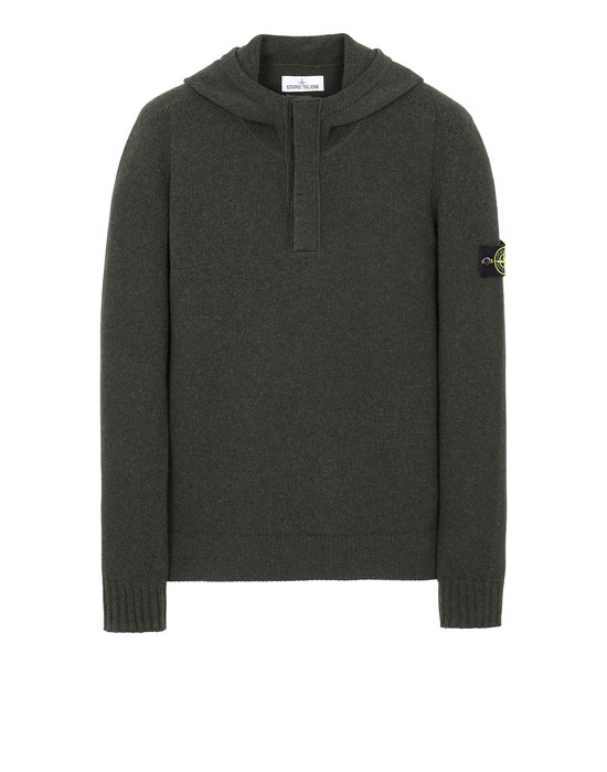 STONE ISLAND 507A3 Sweater Man Musk Green