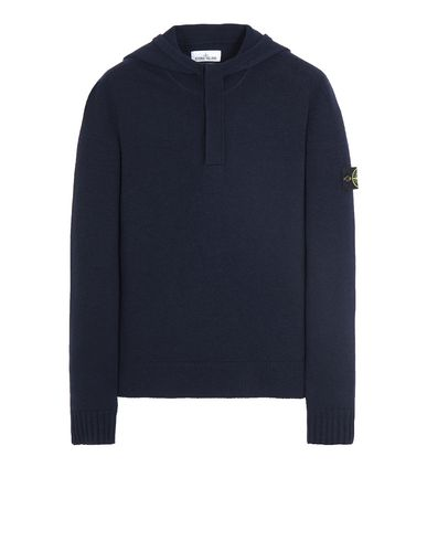 STONE ISLAND 507A3 Sweater Man Blue EUR 319