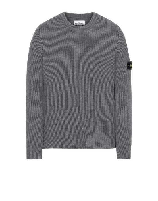 STONE ISLAND 521C2 Sweater Man Gray