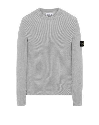 STONE ISLAND 521C2 Sweater Man Pearl Grey EUR 309