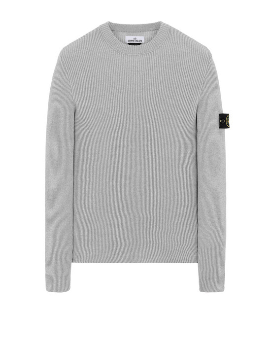 STONE ISLAND 521C2 Sweater Man Pearl Grey