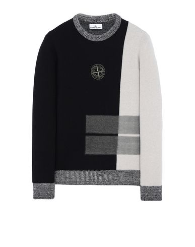 STONE ISLAND 539D2 Sweater Man Black EUR 244