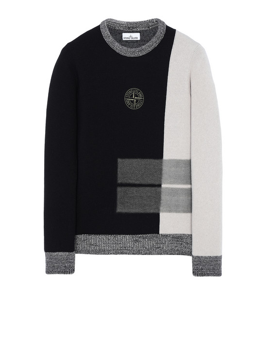STONE ISLAND 539D2 Sweater Man Black