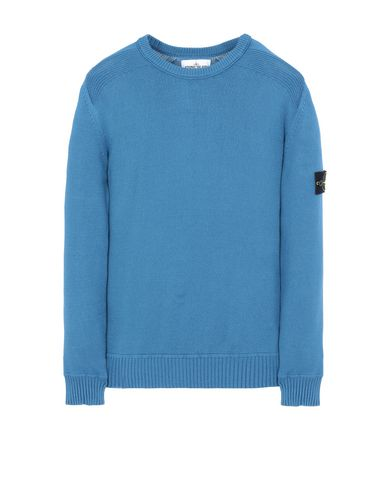 STONE ISLAND 541A2 Sweater Man Periwinkle EUR 176